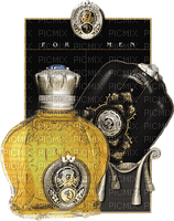 Perfume Man Arabic Gold Black Yellow - Bogusia