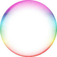 transparent frame colorful circle