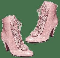 Kaz_Creations  Pink Deco Scrap Colours  Boots Shoes Shoe