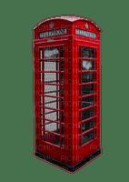 telephone box red london tube deco retro telefonzelle