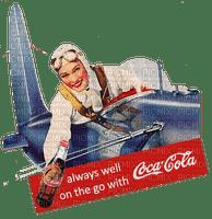 woman pilot cola