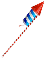 Kaz_Creations America 4th July Independance Day American Sparkler Rocket