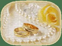 wedding marriage fond background pearls bulle rings ringe fleur flower tube image