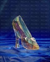 image encre couleur texture chaussure de femme edited by me