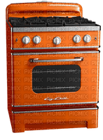 Orange Cook Cooking Bake Baking Stove Kitchen