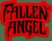 fallen angel text ange gothique
