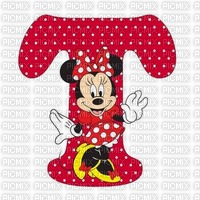 image encre lettre T Minnie Disney edited by me