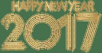 Kaz_Creations Logo Text Happy New Year  2017