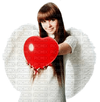 St. Valentin love Angel girl heart_Saint Valentin amour ange fille cœur