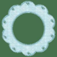Blue Frame Circle