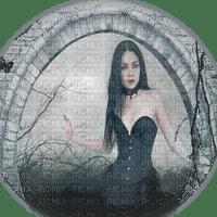 goth woman fantasy