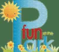 Kaz_Creations Logo Text Fun At The Park
