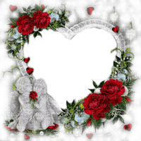 valentine heart frame cadre coeur