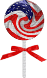 Kathleen Reynolds 4th July American USA Candy Lollipop
