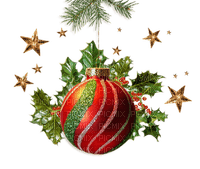 CHRISTMAS BALL DECO