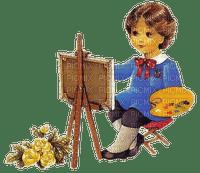 loly33 enfant peinture
