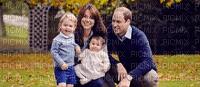 Kate Wiliam avec leur fils et leur fille