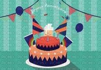 image encre gâteau pâtisserie joyeux anniversaire edited by me