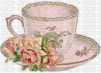 vintage deco tea cup