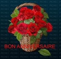 image encre bon anniversaire fleurs panier mariage color effet valentine  edited by me