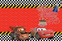 image encre couleur anniversaire voitures Disney edited by me