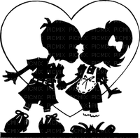couple silhouette child