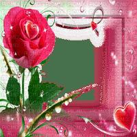 cadre rose frame roses deco