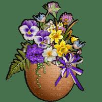 déco de pâques gif animation baby fleurs Adam64