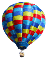 Montgolfière_Hot air balloon_ _ Blue DREAM 70