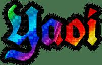 Yaoi text rainbow