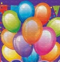 image encre bon anniversaire couleur effet ballons  edited by me