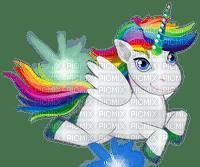 Licorne colorée colored unicorn