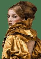 gold woman bp
