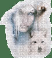 mujer y animal by EstrellaCristal