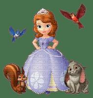 image encre couleur effet oiseaux cadre coin bon anniversaire princesse Sofia dessin  edited by me