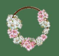 frame flowers circle cadre fleur cercle