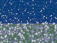 winter hiver deco snow neige fond background blue snowfall