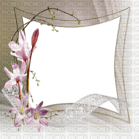 flower frame deco cadre fleur