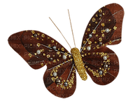 Papillon.Butterfly.Mariposa.Pin.Deco.Brown.marron.Victoriabea