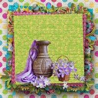 image encre couleur effet à pois fleurs pot texture edited by me