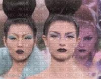 image encre femmes mode charme visage edited by me