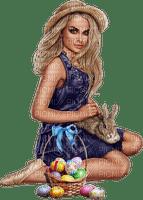 Femme de Pâques lapin women rabbit