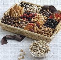 Cadeau de panier sucré et salé dried mixed nuts crate