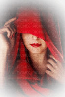 woman red  femme rouge