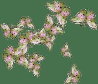 papillons, été, pré, village, jardin, GIF, animation.deko,tube, Orabel