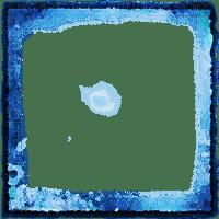 soave frame transparent paper blue