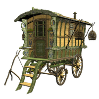 Kaz_Creations Transport Gypsy Caravan Wagon