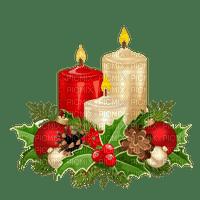 christmas candle wreath Advent 3.
