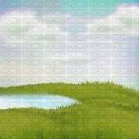 grass pond course race water  summer ete paysage landscape