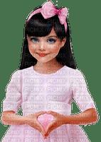 minou-girl-flicka-pink